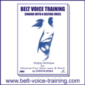 Belt Voice Training - Singing lesson 3 Low Belt Mix