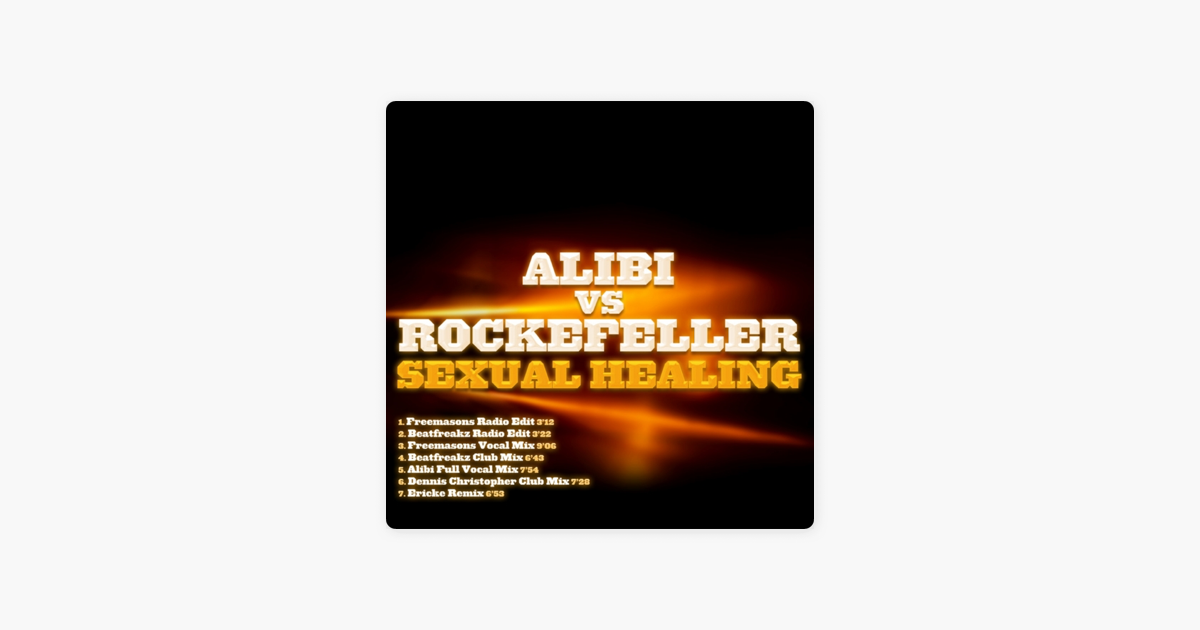 Sexual healing remix on radio