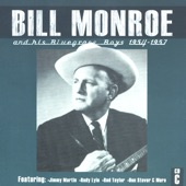 Bill Monroe & His Bluegrass Boys - I'm Working On A Building