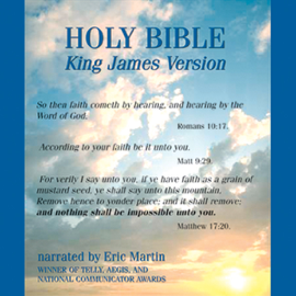 The King James Audio Bible: Authorized Version (Unabridged) audiobook