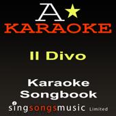 Karaoke Songbook: Il Divo