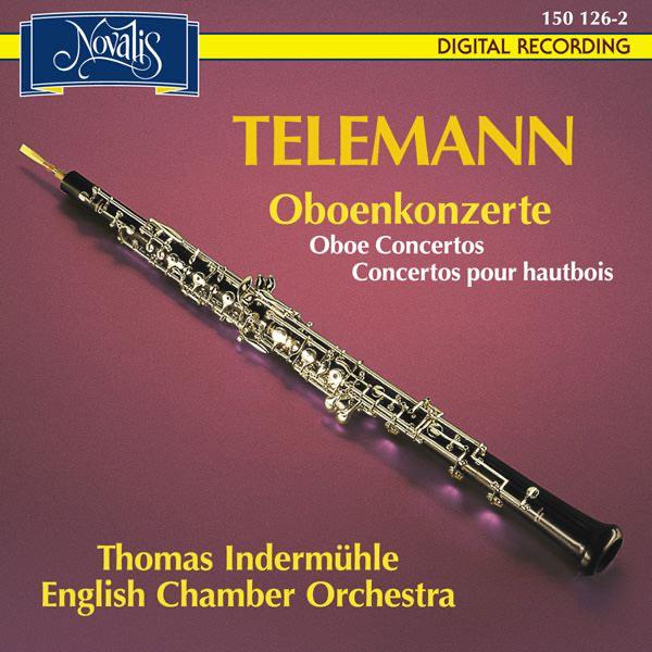 Risultati immagini per oboe concertos indermuhle telemann