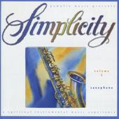 Simplicity, Vol. 5 - Saxophone