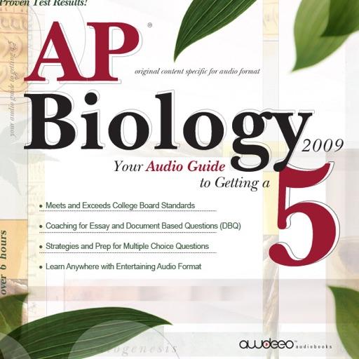 AP Biology 2009: Your Audio Guide to Getting a 5 - PrepLogic