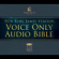 Voice Only Audio Bible - New King James Version, NKJV: Complete Bible (Unabridged)