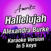 Hallelujah (In 5 Keys) (Originally performed by Alexandra Burke) - EP - Ameritz - Karaoke