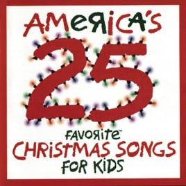 americas 25 favorite christmas songs for kids studio musicians