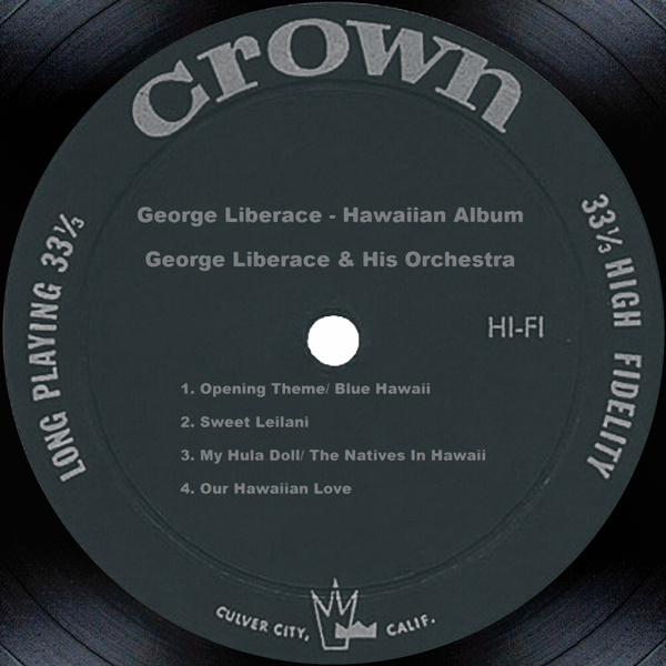 ‎George Liberace's Hawaiian Album by George Liberace and His Orchestra
