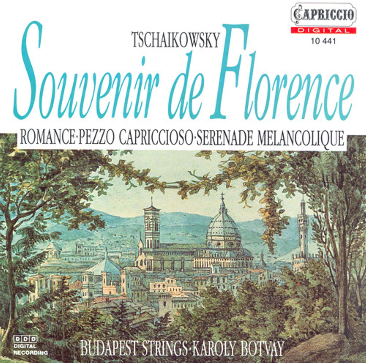 Tchaikovsky, P.I.: Souvenir De Florence - Valse-Scherzo - Serenade Melancolique - Pezzo Capriccioso - Romance