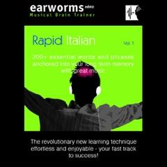 Rapid Italian: Volume 1 (Original Recording)