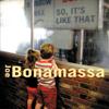 Joe Bonamassa - So, It's Like That  artwork