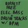 Royalty Free Bass lines + Drum Beats w/bpm - Royalty Free Bass Lines + Drum Beats W/bpm