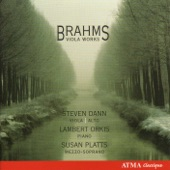 2 Songs for Alto Voice, Viola and Piano, Op. 91: Spiritual Cradle Song artwork