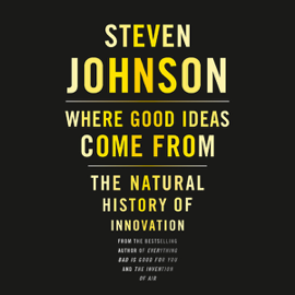 Where Good Ideas Come From: The Natural History of Innovation (Unabridged) audiobook