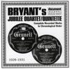 Bryant's Jubilee Quartet / Quintette - Sinner You Better Get Ready