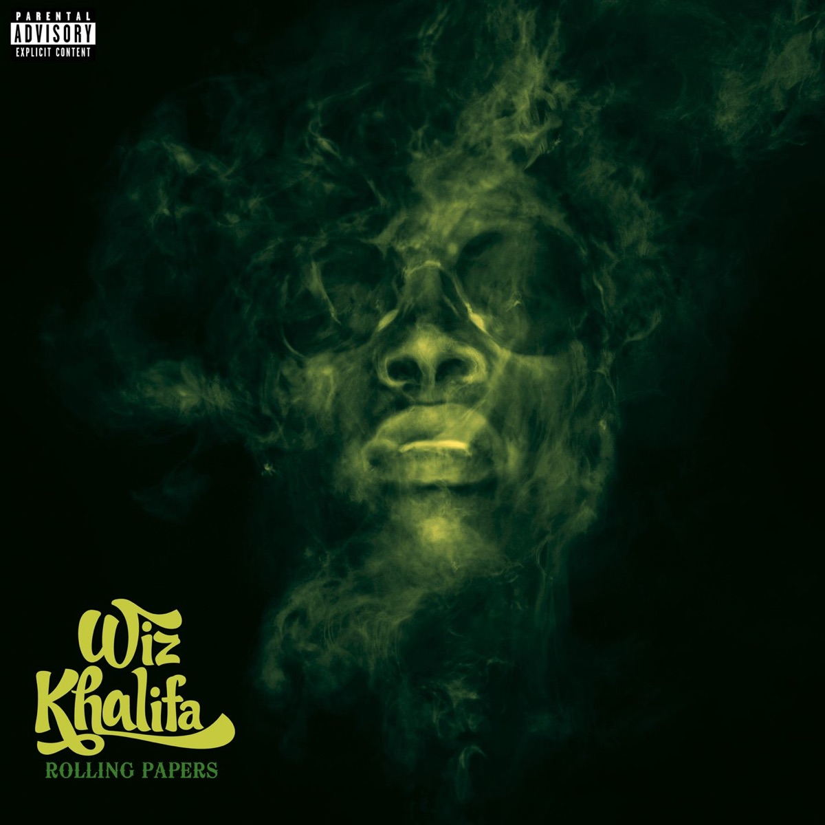 Rolling Papers Deluxe Version Wiz Khalifa CD cover