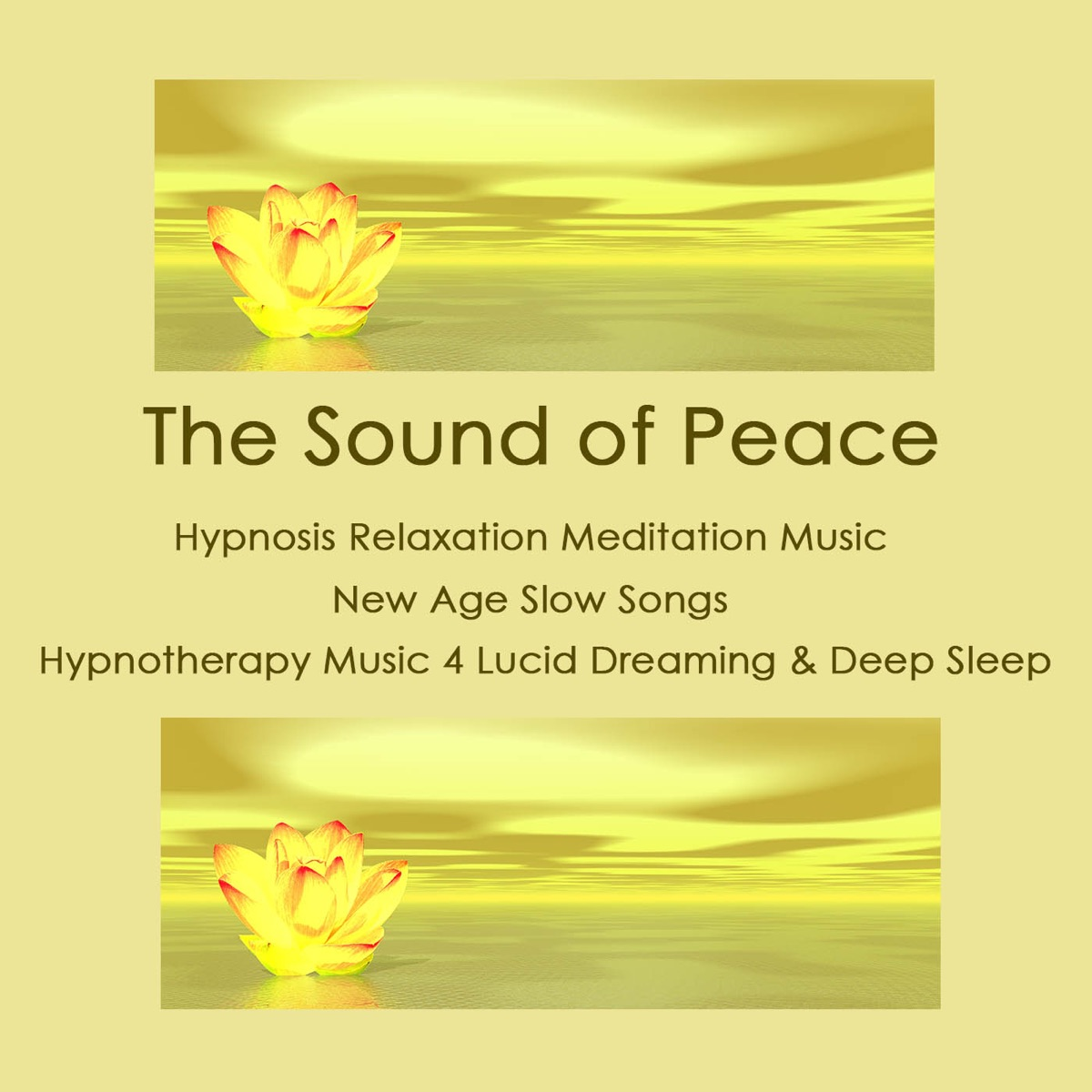 The Sound of Peace: Hypnosis Relaxation Meditation Music