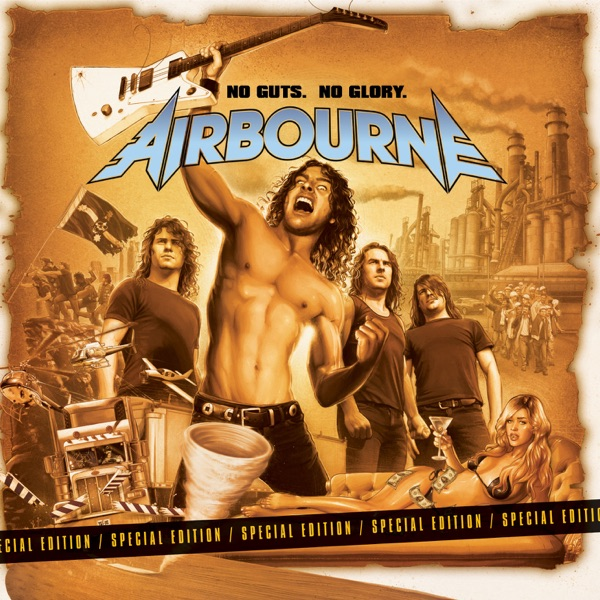 Airbourne mit Blonde, Bad and Beautiful