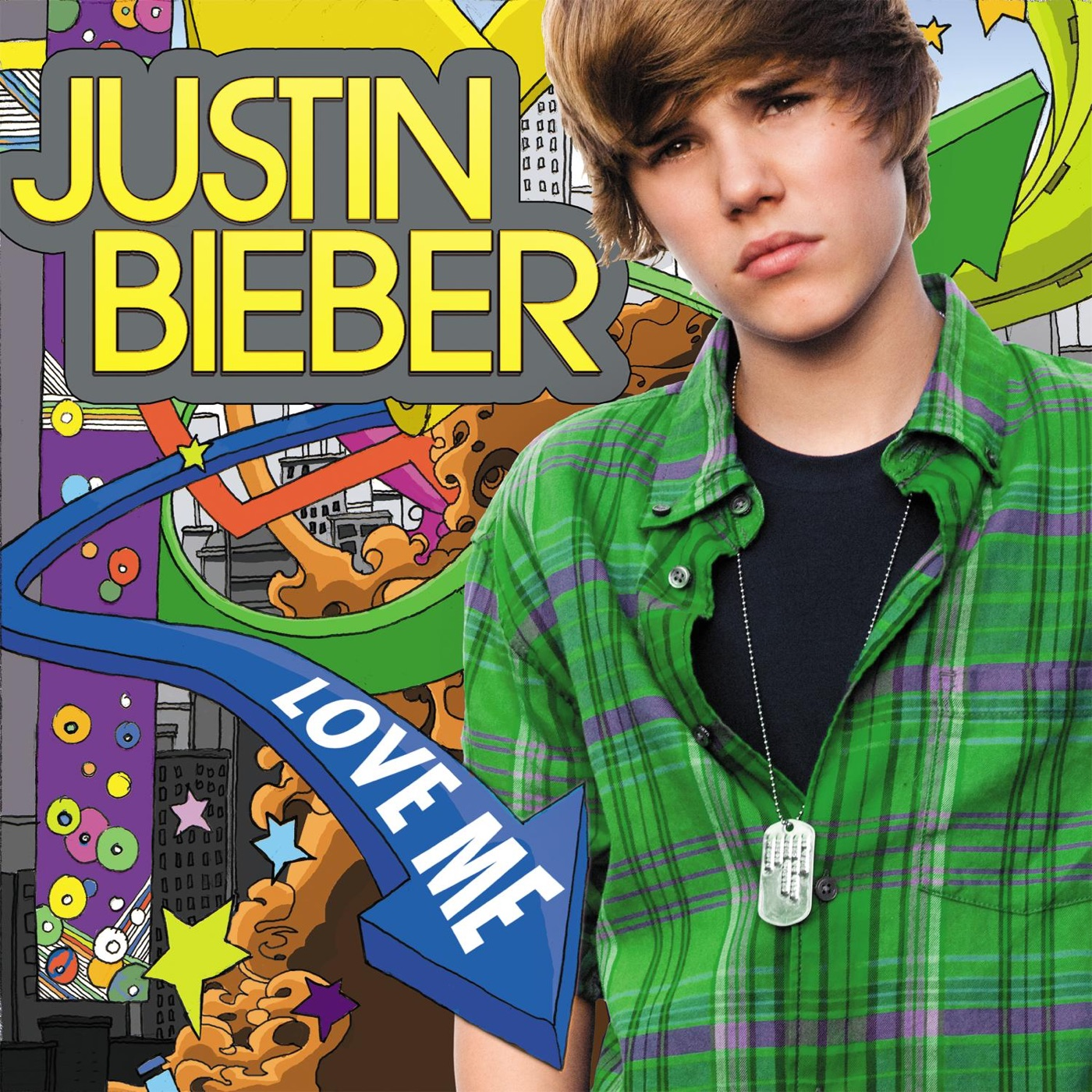 Justin Bieber - Love Me - Single Cover