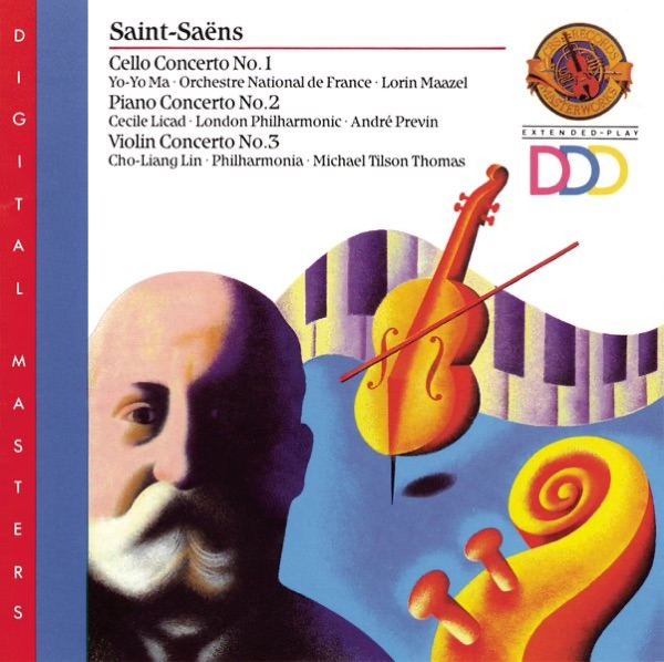 Saint-Saëns: Cello Concerto No. 1 - Piano Concerto No. 2 - Violin Concerto No. 3