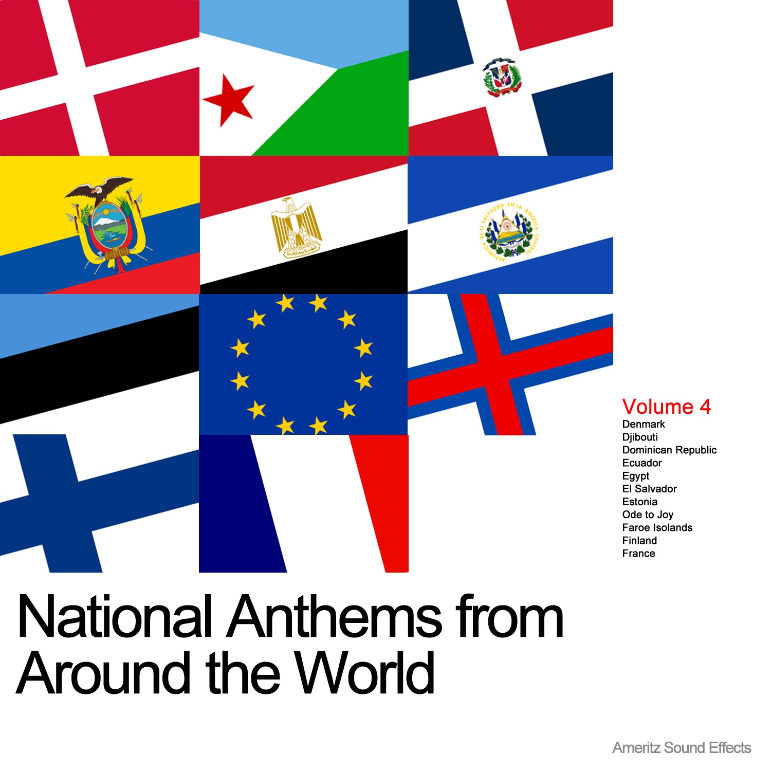National Anthems from Around the World Vol. 4