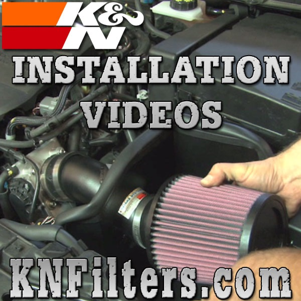 K&N Air Intake Installation Videos