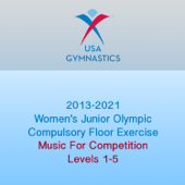 2013-2021 Women's Junior Olympic Compulsory Floor Exercise (Music For Competition)