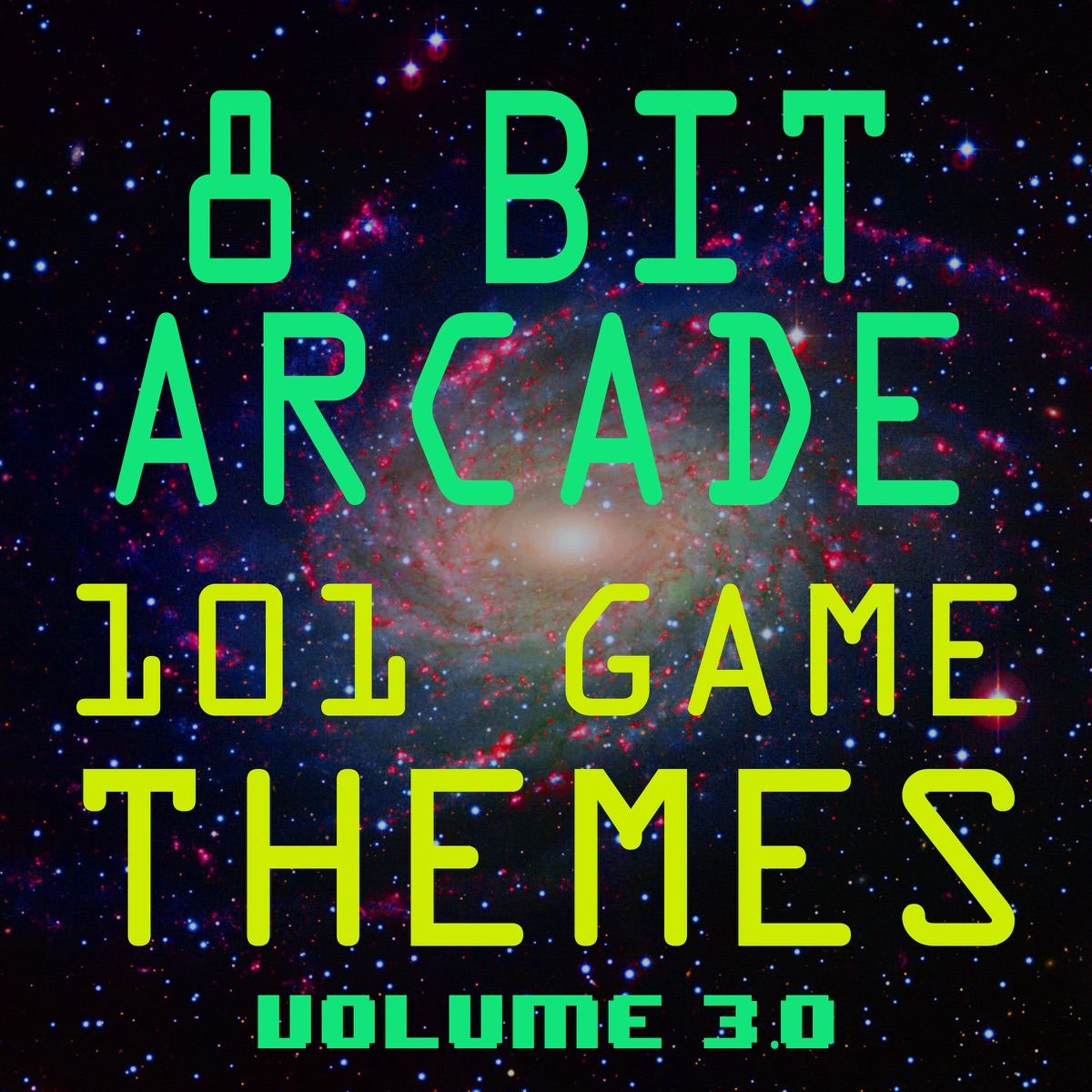 101 Game Themes Vol 30 8-Bit Arcade CD cover