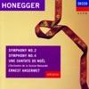 Honegger: Symphonies Nos. 2 & 4 - Une Cantate de Noel ジャケット写真