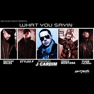 What You Sayin' (feat. Styles P, Masspike Miles, Tuge Palermo & French Montana) - Single Mp3 Download