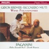 Paganini: Violin Concerto No.4, Suonata Varsavia, Gidon Kremer, Riccardo Muti & Vienna Philharmonic