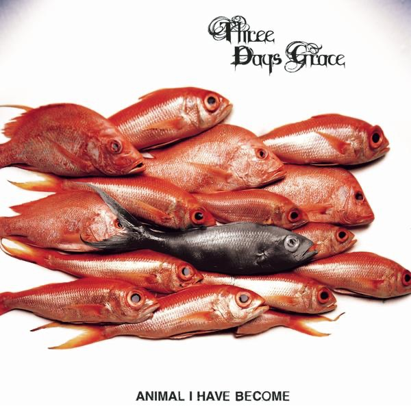 Animal I Have Become - Single Three Days Grace CD cover
