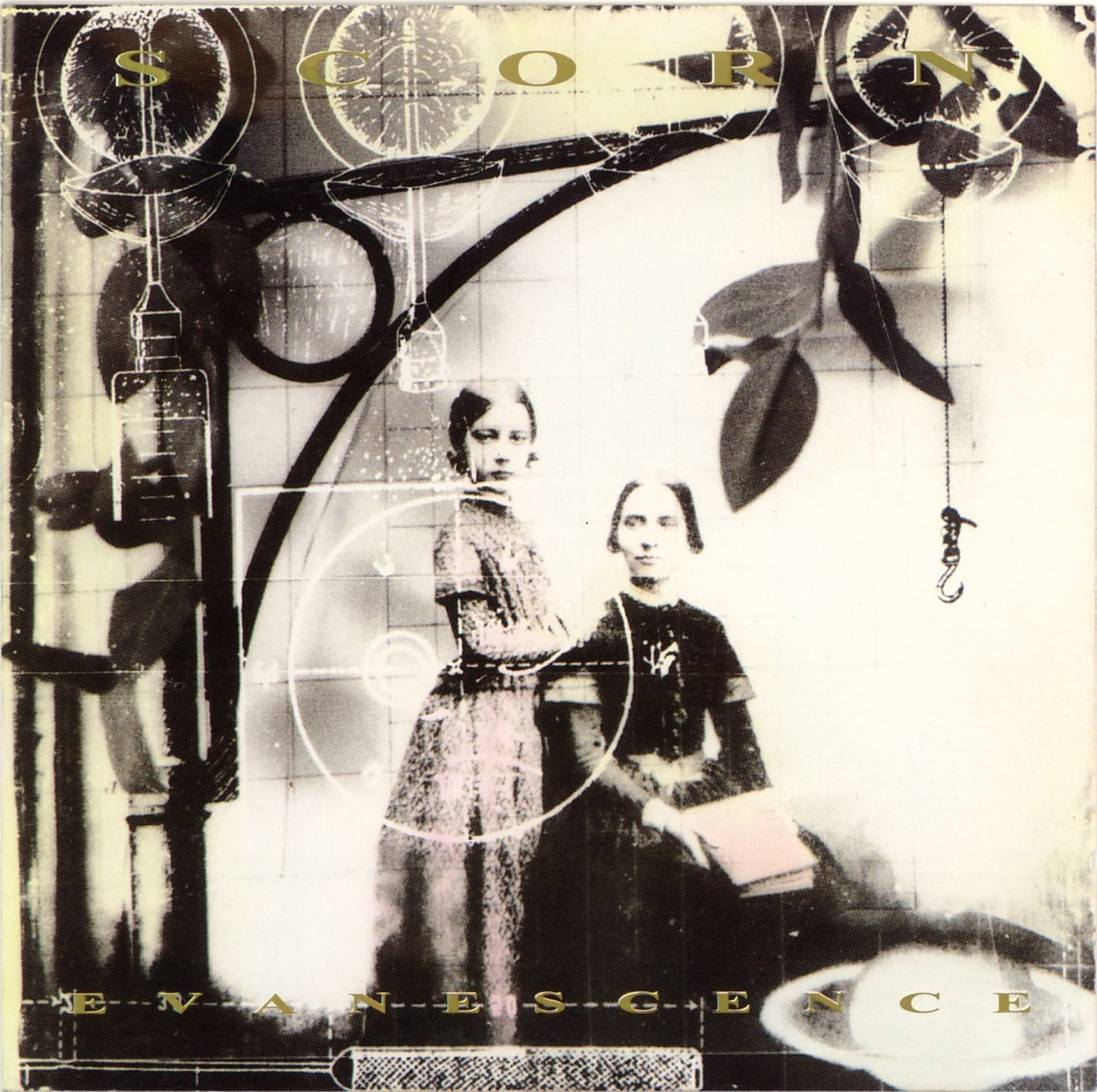 Evanescence Scorn CD cover