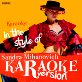 Karaoke (In the Style of Sandra Mihanovich)