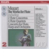 Mozart The Works for Flute including 2 Flute Concertos 4 Flute Quartets Concerto for Flue Harp and Orchestra