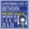 ブレンデル・プレイズ・ベートーヴェン・ピアノ・ソナタ・セレクション 第3集「易しいソナタ」「かっこうソナタ」 ジャケット写真