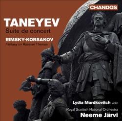 Album: Taneyev Suite de Concert Rimsky Korsakov Fantasia on