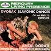 Dvorák: Slavonic Dances, Op. 46 &, Op. 72 ジャケット写真