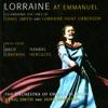 Lorraine Hunter Lieberson at Emmanuel, Lorraine Hunt Lieberson & The Orchestra of Emmanuel Music