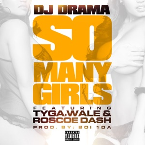 So Many Girls (feat. Tyga, Wale & Roscoe Dash) - Single Mp3 Download