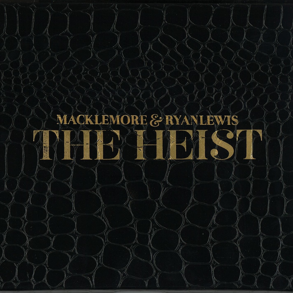 The Heist Deluxe Edition Macklemore  Ryan Lewis CD cover