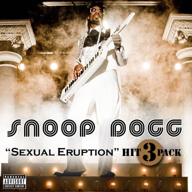 Sexual Eruption - Hit Pack - Single Album Cover by Snoop Dogg