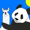 llama/panda show