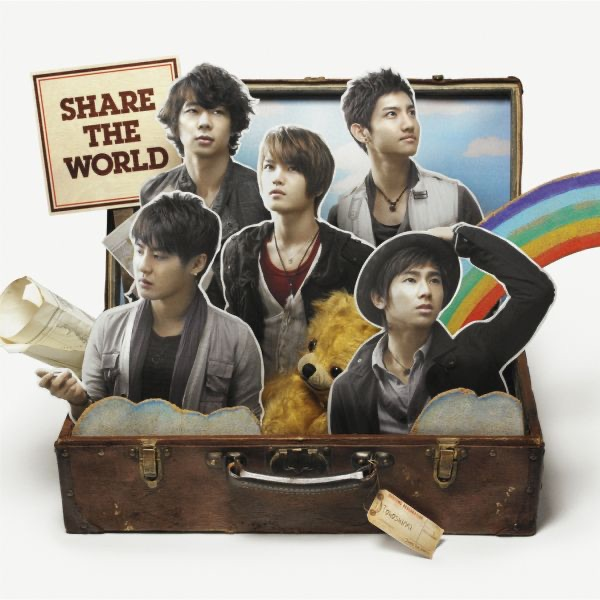 Share The World/We are! - EP Album Cover by TVXQ!