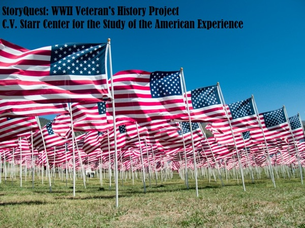 StoryQuest WWII Veterans Project 2013-2014