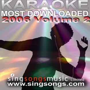 Karaoke Most Downloaded 2006 Volume 2 – 2000's Karaoke Band