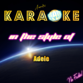 Skyfall (Piano Version) [In the Style of Adele] [Karaoke Version]