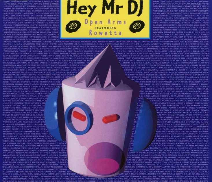 Open Arms - Hey Mr. DJ.