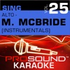 Sing Alto Martina McBride Vol 25 Karaoke Performance Tracks