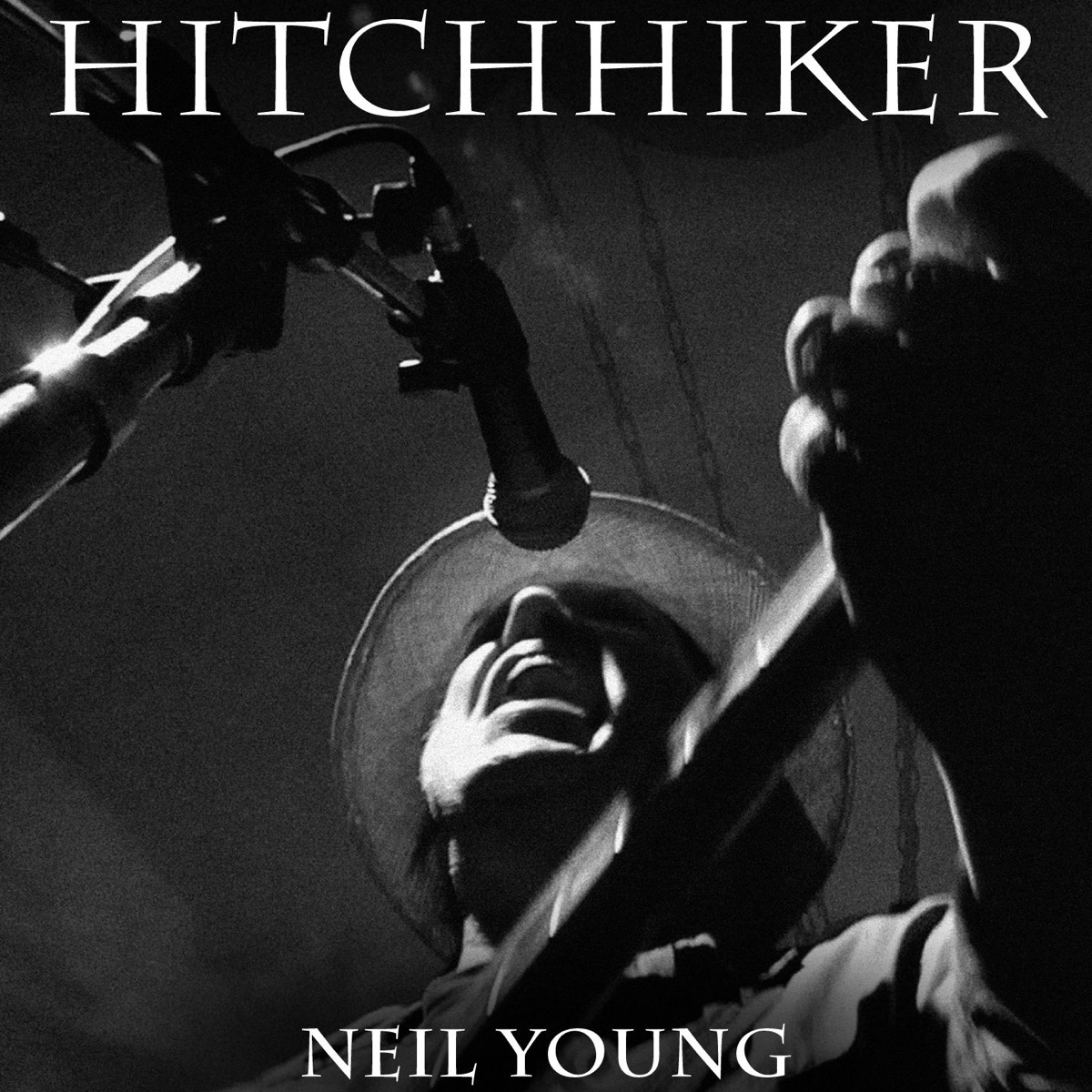 Hitchhiker - Single Neil Young CD cover